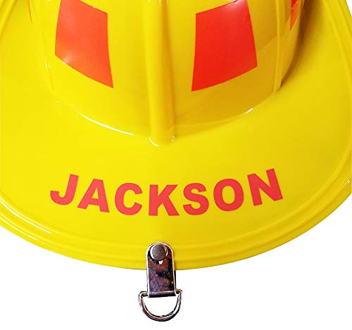 Aeromax Personalized Firefighter Helmets (Yellow)