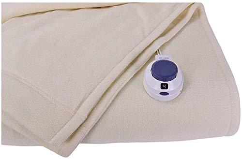 Perfect Fit Luxury Micro-Fleece Low-Voltage Electric Heated Blanket | Amazon.com