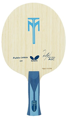 Best Price Butterfly Timo Boll ALC Blade | Arylate-Carbon Table Tennis Blade | Professional Table Te...