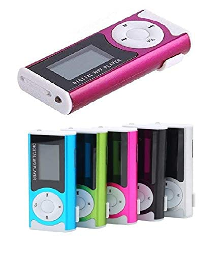 BOSSTECH- Digital mp3 Music Player mp3 Music Player with Display mp3 Music Player for Male,Female,Kids with Memory Card TF Slot - Random Colour (Pack of 1)
