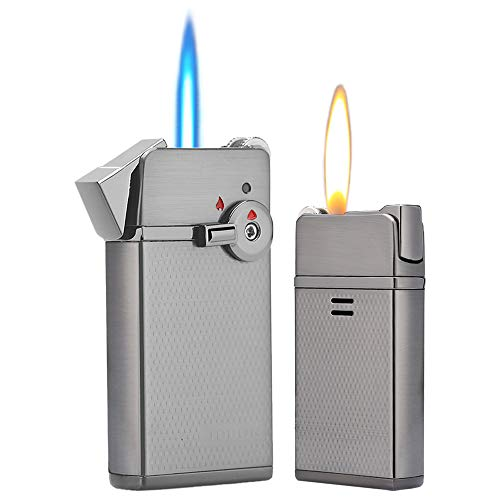 HUOWA Jet Torch Cigar Lighter Soft/Jet Flame Switchable Cigarette Lighter with Adjustable Flame Dial...