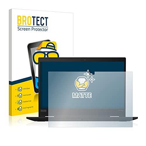 BROTECT Entspiegelungs-Schutzfolie kompatibel mit Lenovo ThinkPad X13 Yoga Gen 1 Bildschirmschutz-Folie Matt, Anti-Reflex, Anti-Fingerprint