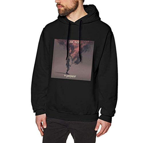 Ljkhas2329 Mens The Chainsmokers Sick Boy Funny Black Long Sleeve Pullover Hoodie Sweatshirt L
