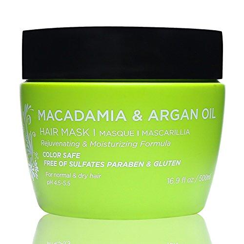 Máscara para el cabello Luseta Macadamia Oil 16.9 oz