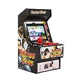 BIlinli 2.8'Mini máquina de Juegos de Arcade de Mano Recargable Retro de 16 bits 156 Consola de Juegos clásica para...