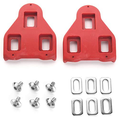 Heritan Tacos de bicicleta compatibles con Look Delta 9 grados Float -...