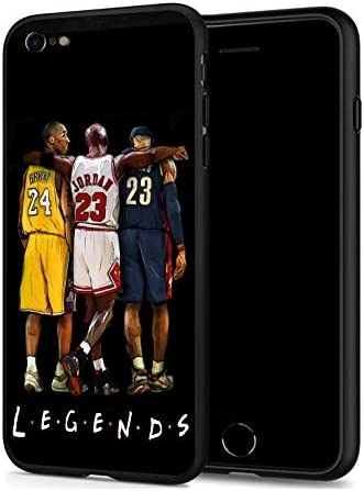 GONA iPhone 6 iPhone 6s Case for Basketball Fans Soft Silicone Protective Thin Case Compatible product image