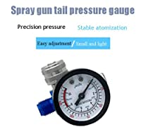 空気圧レギュレーター、HVLP/LVLP重力供給/吸引スプレーペイントツール用の140PSIスプレーガン圧力計