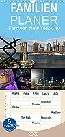 Fernweh New York City - Familienplaner hoch (Wandkalender 2022 , 21 cm x 45 cm, hoch): Fernweh-Kalender von der atemberaubendsten Stadt der Welt mit aufregenden neuen und aussergewoehnlichen Fotografien (Monatskalender, 14 Seiten )