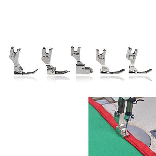 5X Presser Füße für Juki industrielle Nähmaschine S518NS P36LN P36N P35 P363