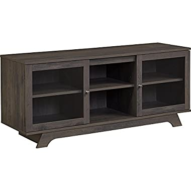 Ameriwood Home Englewood TV Stand for TVs up to 55 , Weathered Oak