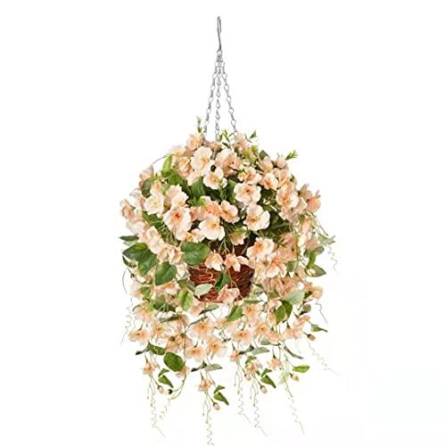 Hyeflora Artificial Flowers Basket