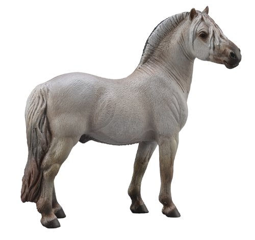 CollectA – 3388632 – dinosaurefiguur paarden – Fjord ETALON – grijs