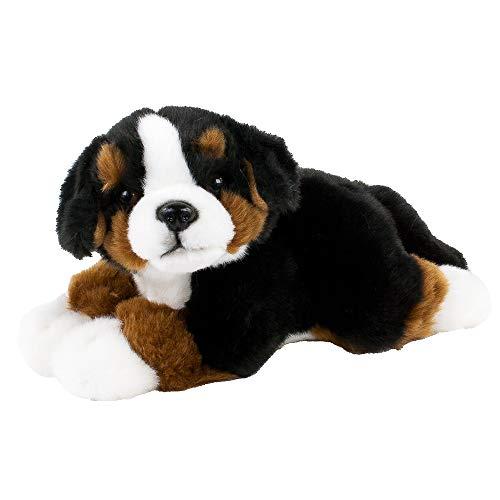 Teddys Rothenburg Kuscheltier Berner Sennenhund 25 cm schwarz/braun/weiß liegend Plüschhund