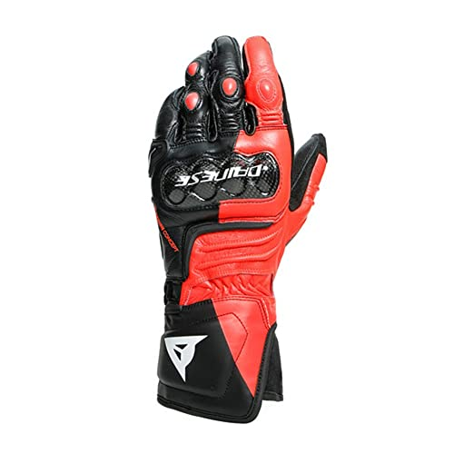 Dainese Carbon 3 Long Guanti da moto Nero/Rosso/Bianco 2XL