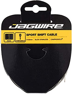 Jagwire Slick Stainless Tandem Derailleur Cable Wire 3100mm Campy Head