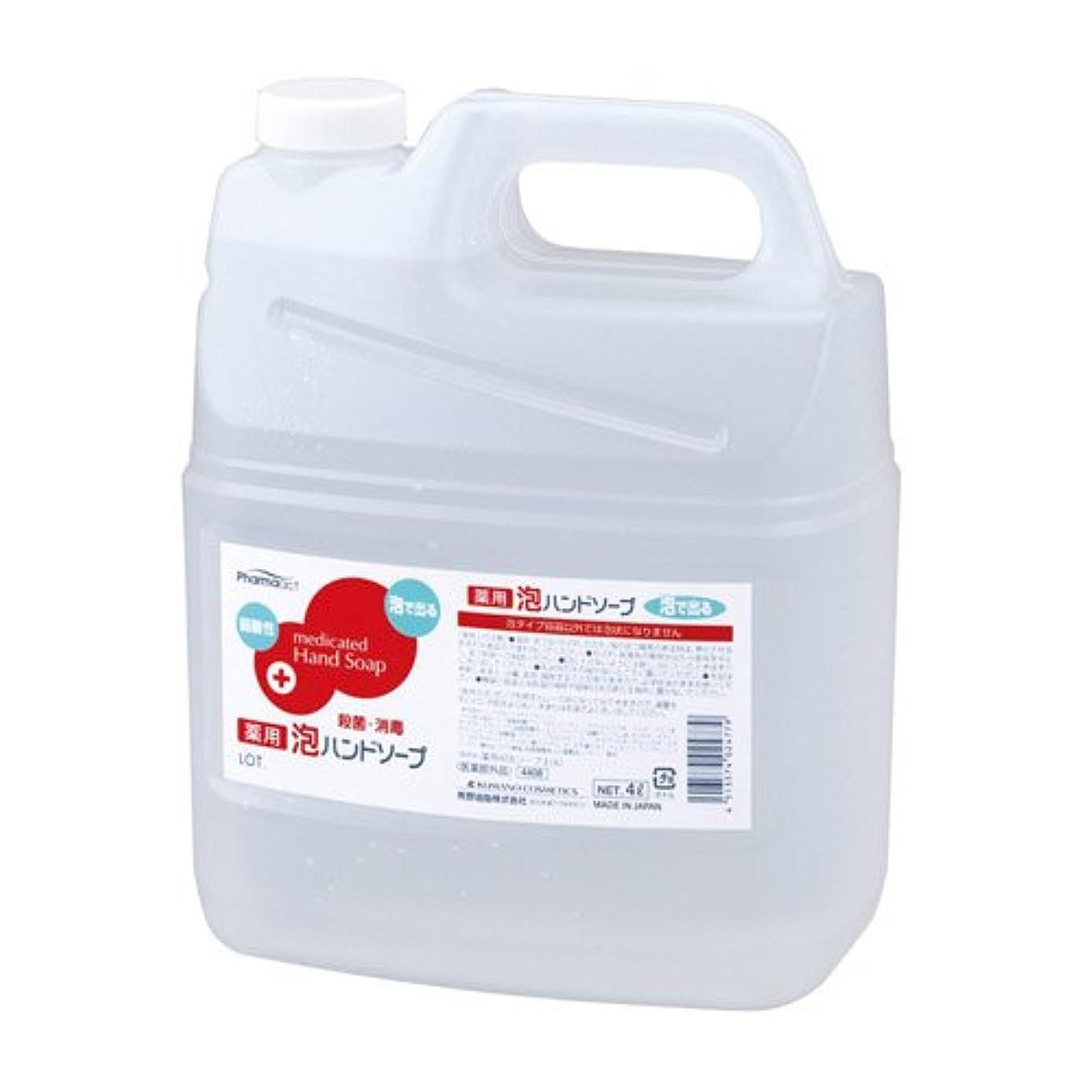 命題進むボランティアファーマアクト 薬用 泡ハンドソープ 業務用 4L 【医薬部外品】