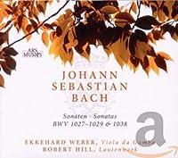 Sonaten BWV 1027-1029 & 1038 für Viola da Gamba und Lautenwerk