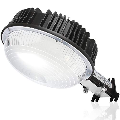 80W LED Barn Light, KUKUPPO 9600LM 5000K Dusk to Dawn LED Yard Lights [400W MH/HPS Equiv.] - IP65 Waterproof Outdoor Wall Mount Floodlight Most Effeciency Area Security Lighting on The Market