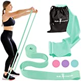 Stretch Bands for Dance and Ballet with Gift Box – Resistance Bands Set for Dancers, Ballerinas, Gymnasts and Cheers – Improve Flexibility, Strength and Split - Colors and Sizes for Kids and Adults
