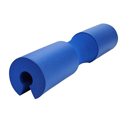 Vbest life Almohadilla para Sentadillas Barbell Cuello y Hombro Cojín Protector de protección Levantamiento de Pesas Almohadilla para Sentadillas Fitness Barbell(Azul)