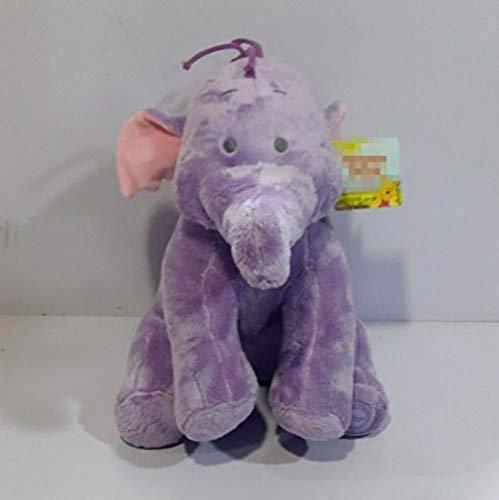 QIXIDAN Tigger Eeyore Ferkel Freunde Lumpy Heffalump Plüschpuppe 35Cm Nette Kuscheltiere Lila Elefanten Plüschtiere Kinder Geschenke