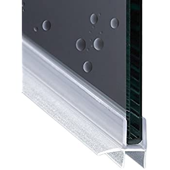 200cm EC-848 Guarnizione Box Doccia con Gocciolatoio per vetri di spessore da 6 mm