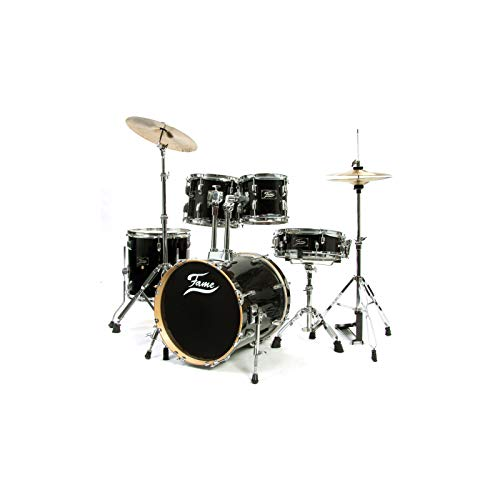 Fame Maple Standard Jungle Set Schlagzeug #Black