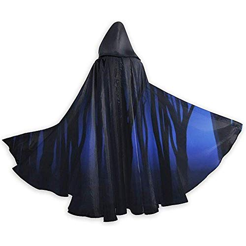 Zome Lag Mannen Womens Lengte Mantels, Wizard Cape, Volwassen Capuchon Mantel, Rol Speel Dress Up,Halloween Weerwolf Ghost Halloween Capuchons,Party Cosplay Costume,Cloak Cape
