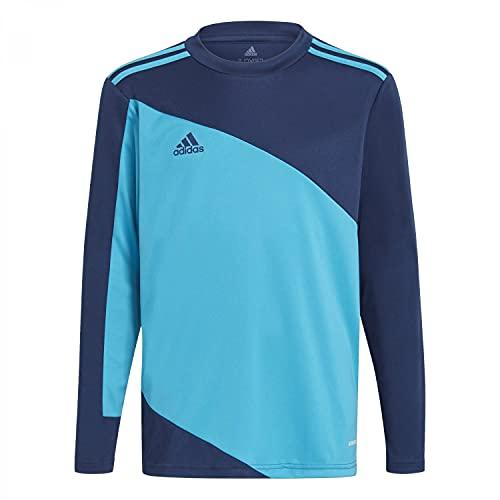 adidas Squad Gk21 Jsyy T-Shirt für Kinder, Jungen, T-Shirts, GN6947, Marineblau/Agufue, 12 Años