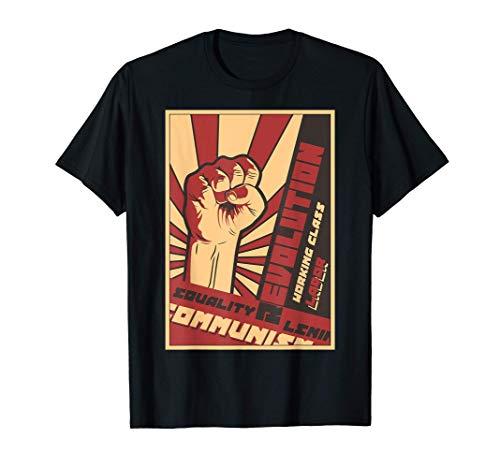 Communisme, égalité, révolution, classe ouvrière unie T-Shirt