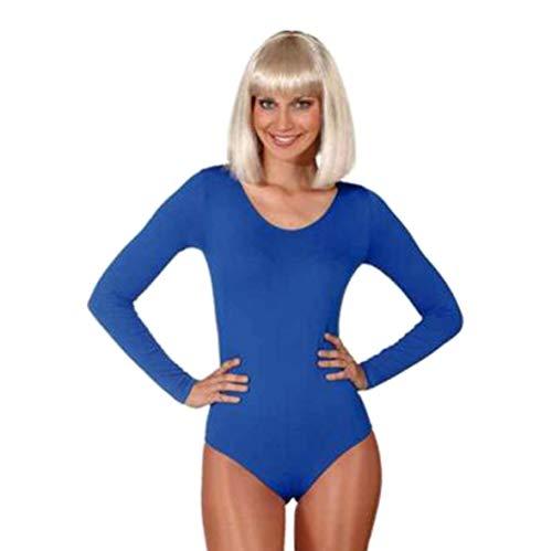 a Tanzbody für Profis alle Farben Gardebody Bodys, Größe:S/M;Farbe:blau
