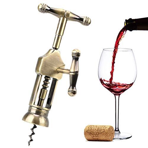Cork Wine Opener Bottle Opener Vintage Style Rack Pinion Corkscrew Bar Tools Gadgets