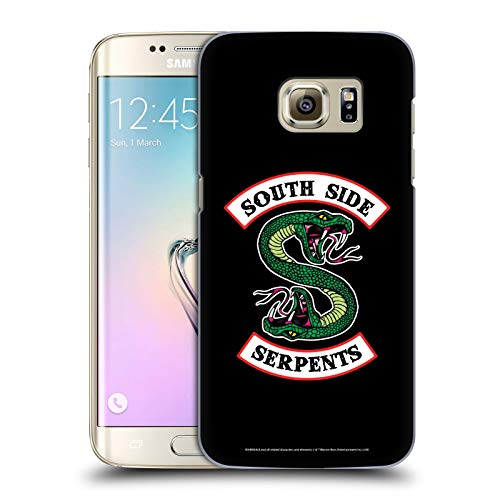 Official Riverdale South Side Serpents Graphic Art Hard Back Case Compatible for Samsung Galaxy S7 Edge