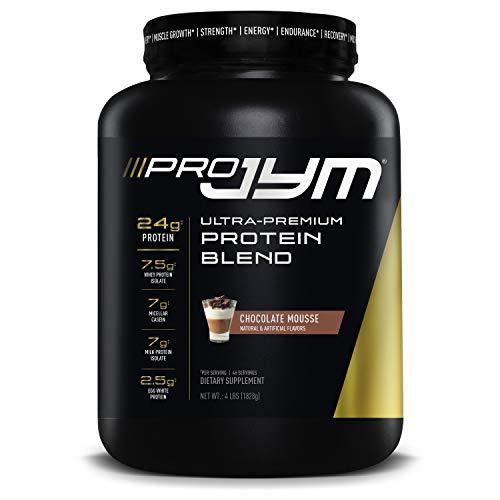 Pro JYM Protein Powder - Egg White, Milk, Whey Protein Isolates & Micellar Casein | JYM Supplement Science | Chocolate Mousse Flavor, 4 lb