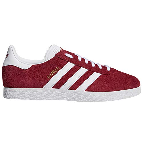 Gazelle, Zapatillas Deportivas para Mujer, Sneaker Casual, As (39 EU, Night Red - Cloud White)