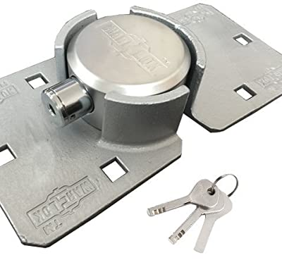 WAR-LOK Heavy Duty Puck Lock and Hasp