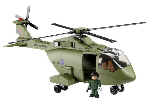 H.M. Armed Forces – Character Building – Royal Air Force – RAF Merlin Hélicoptère – 191 Pièces