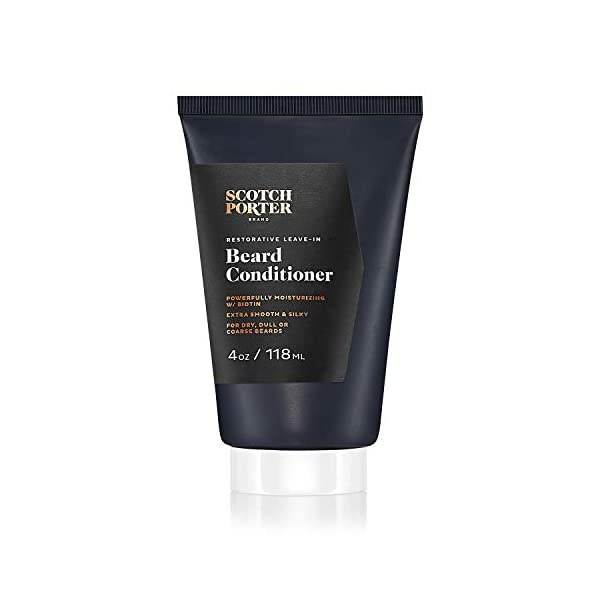 Scotch Porter Restorative Leave-In Beard Conditioner for Men | Deeply Conditions, Softens & Shines | Formulated with Non… 1