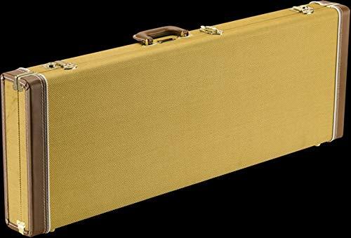 Fender 099-6106-300 Estuche de madera para guitarra clásica - Strat/Tele - Tweed