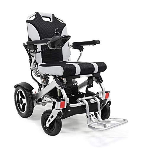 FTFTO Inicio Accesorios Ancianos Discapacitados Silla de Ruedas eléctrica Coche eléctrico Ligero Aleación de Aluminio Ancianos Discapacitados Scooter Batería de Litio 24V 11Ah