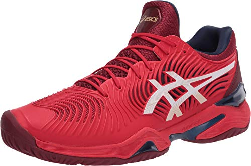 ASICS Men's Court FF 2 Tennis Shoes, 8M, Classic RED/White