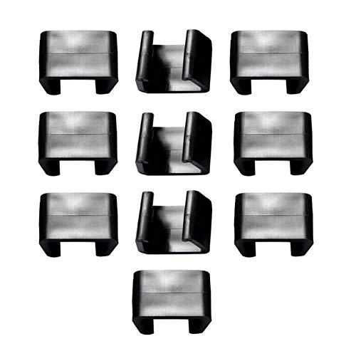MOVKZACV Clips für Couch, Terrasse, Rattan, Gartenmöbel, Terrasse, Sektional, Sofa, Verbindungsklemmen, Outdoor, Korbgeflecht, Stuhl, Sofa, Ausrichtungsklammern