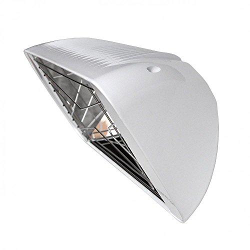 HELIOSA 66 Infrarotstrahler 2000 Watt IPX5, aus robustem Aluminium-Druckguss hergestellt und mit thermoplastischen Lacken für den Außenbereich lackiert. Kurzwellen – Heizstrahler für Indoor und Outdoor geeignet, Farbe: Anthrazit - 4