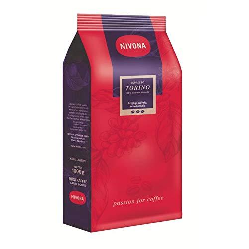 Nivona Torino 1kg Espresso Kaffee Bohnen 1000g 100% Gourmet Robusta