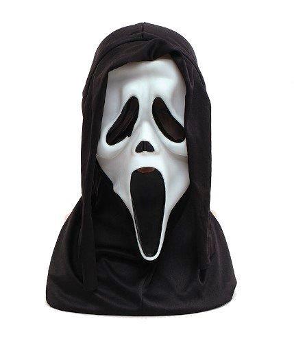 ZHANGSL Halloween Horro Scream Scary Maske, Halloween Gummi Erwachsenen Kostüm Maske, Leiche MaskCosplay Latex Maske