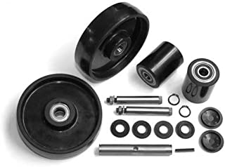 GPS Complete Wheel Kit for Manual Pallet Jack, Fits Lift-Rite (Big Joe), Model # L-50