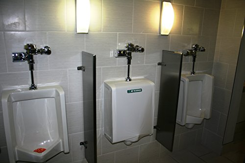 """Attractive JaniWrap""""Out of Order"""" Urinal/Toilet Covers - 32 Applications - Gray Labels -Great Value 