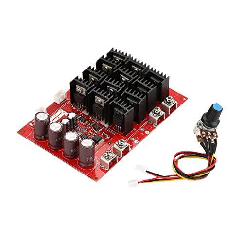 Ba30DEllylelly 60A10-50V 60A DC Control de Velocidad del Motor PWM HHO RC Controlador 12V 24V 48V 3000W MAX RC Controlador Motor de Cepillo