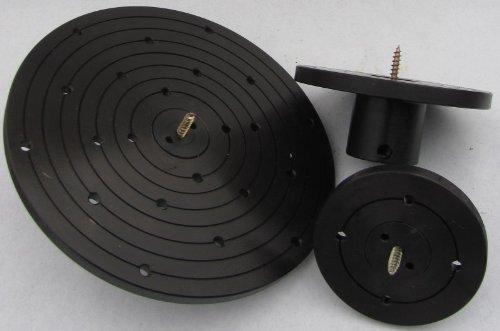 Planscheibe 90 o. 120 o. 200 mm mit Schraubenfutter M33 Drechseln Drechselbank, Durchmesser:120 mm